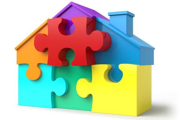 een eigen woning is puzzelen